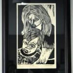 """Grief by Kay Broadwater $75 or best offer, 10.5"""" x 16"""" with frame 13""""x19"""""""